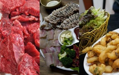 '전라도 음식=홍어'라는 당신에게... 생고기와 상추튀김도 '강추'