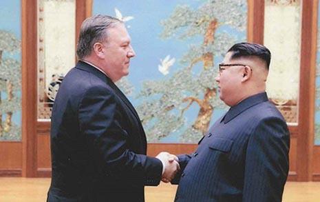 """트럼프 """"북한이 만남 희망 3~4개 날짜·5개 장소"""""""