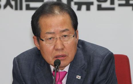 """홍준표의 호언장담  """"김정은 핵폐기 안 한다"""""""