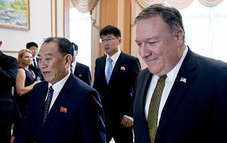북한 내 미군유해발굴 재개키로, 북미 장성급회담 계속