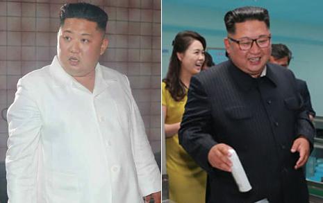 건설 현장서 열받은 김정은, 화장품 공장선 '방긋'
