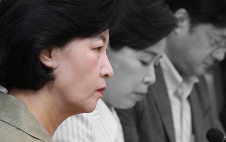 """추미애 """"경제상황 무거운 책임, 박원순처럼 답찾자"""""""