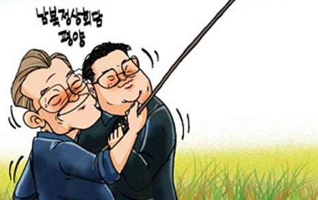 [정윤성 만평] 남과 북에도 수확의 계절, 가을