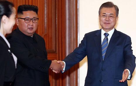 문재인·김정은, 20일 아침 백두산 간다