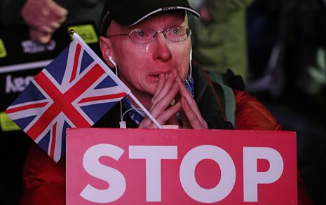 '브렉시트 합의안' 부결... 또 국민투표? 갈림길에 선 영국