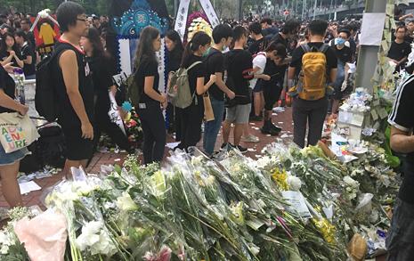 """홍콩 청년들 """"우산혁명 때와 지금은 완전히 달라"""""""