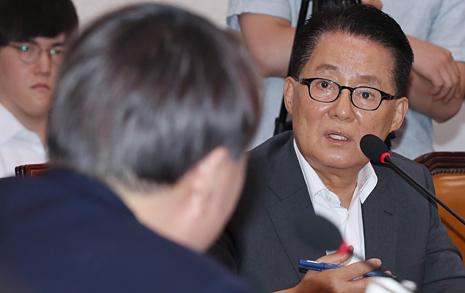 """박지원 """"황교안의 조국 반대 이유? 김학의 사건 방어 위해서"""""""