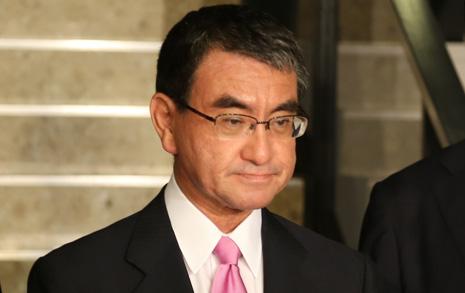 고노 일 외무상, 외국 언론에 연달아 한국 비판 기고문