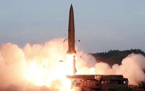 """미국 """"북한 발사체 상황 주시... 동맹들과 긴밀히 협의"""""""