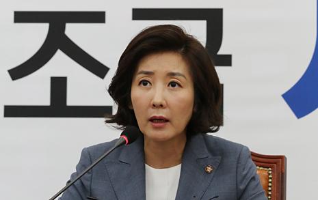 """나경원, 법무부의 '윤석열 배제 수사단' 제안에 """"공포정치"""" 맹비난"""