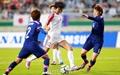 [오마이포토] 북한-일본 여자축구, 선제골 넣은 김윤미