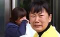 [오마이포토] 울음 터뜨린 영석 엄마