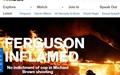 전쟁터 된 퍼거슨... '제2의 LA 폭동' 될까 초긴장