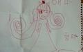 """사망한 티켓다방 여성 7살 딸의 그림 """"사랑해요 엄마"""""""