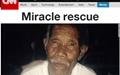 네팔 대지진, 101세 노인 등 '기적의 생환' 잇따라