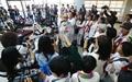 [오마이포토] 언론 관심 집중된 여성운동가들