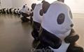 [사진] 곰 반, 사람 반... 한국에 온 '판다 1800마리'