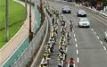 자전거로 백두대간을... 복숭아 350개에 행복했다
