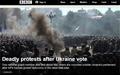 우크라 동부 지역 자치권 놓고 대규모 '충돌'