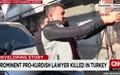 터키 저명 변호사, 거리 기자회견 중 총격 피살
