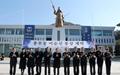 해군사관학교 충무공 이순신 동상 제막