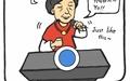 [만평] 김을동의 박근혜 대통령 '디스'?