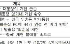 """""""바쁘다 바빠"""" <조선>, 이 와중에 '북한은 문재인 편'"""