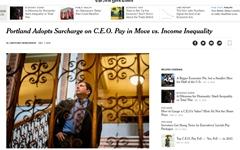 미국, CEO-직원 임금 격차 큰 기업 세금 더 내라