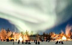 오로라 볼 확률 95%, 캐나다 옐로우나이프