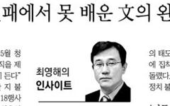 '박근혜-문재인 엮기'에 사활 건 동아·조선