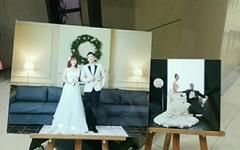 [모이] 세월호를 기억하는 두 젊은이의 결혼식