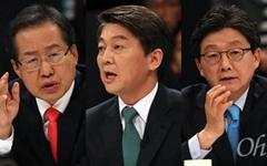 """[리얼미터] """"문재인 44.4%, 안철수 22.8%, 심상정 7.5%"""""""