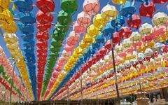 [사진] 부처님 오신 날 앞둔 수덕사 연등