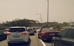 [모이] 황금연휴 첫날, 고속도로는 이미 '주차장'