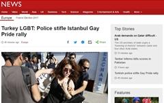 터키, 성 소수자 행진에 '물대포·고무탄' 강제 해산