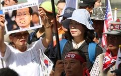 """""""박근혜가 향단이면 홍준표는 방자""""? 태극기의 딜레마"""