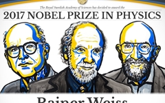 '중력파' 처음 발견한 과학자 3명, 노벨물리학상 수상