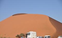 나미브사막의 소수스블레이와 데드블레이