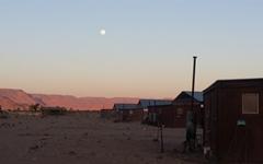 소서스블레이 사막에서의 환상적인 야영
