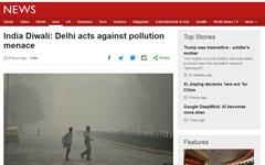 '세계 최악의 대기오염' 인도 뉴델리... '극약 처방'