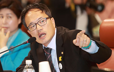 박주민, 세월호 2기 특조위 반대한 신문에 '버럭'