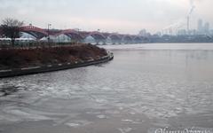 [오마이포토] 올겨울 첫 한강 결빙, 71년 만에 가장 빨라