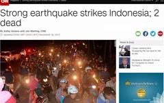 인도네시아 자바섬서 규모 6.5 강진... 최소 2명 사망