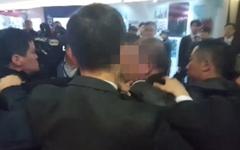 '대통령 수행기자 폭행' 연루 업체, 중국 공안 퇴직자들이 설립