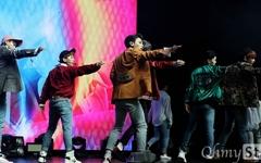 [오마이포토] JBJ, 팬들과 함께 하고 싶은 꽃소년들