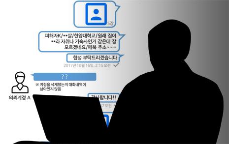 """""""한양대생 지인 합성  음란물사건, 성폭력 명백"""""""