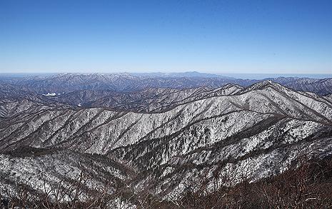 평창에서 가장 높은 산, 윤성빈이 절로 떠오르네