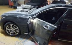 인천국제성모병원 주차장 천장마감재 무너져 차량 등 피해