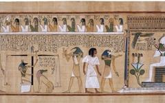 그리스와 이집트 그림, 비교가 무의미하다