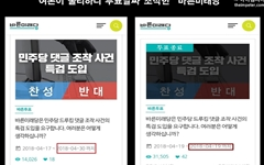 바른미래당, '드루킹 댓글 조작 사건 특검' 도입 투표 조기 종료